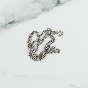 Sterling Silver .925 Curb Chain